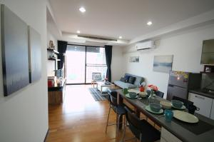 For RentCondoRatchadapisek, Huaikwang, Suttisan : [Owner release] Condo for rent, Amanta Ratchada, Amanta Ratchada, 2 bedrooms (83 m2) next to MRT Cultural Center 30,000 baht / month !!