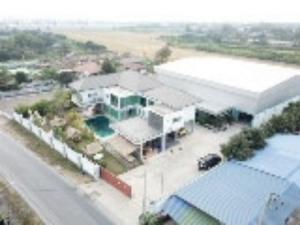 For SaleHouseBangbuathong, Sainoi : House for sale, good location, Sai Noi, 300 sqm., 2 rai, on Bang Kruai Sai Noi road.