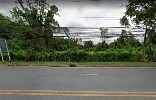 For SaleLandNakhon Nayok : Land for sale in Nakhon Nayok 14 rai 1 ngan 48 square wa, Nakhon Nayok city opposite Wat Nang Ngos.