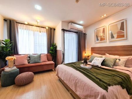 For SaleCondoRama9, RCA, Petchaburi : Condo Asoke-Din Daeng for sale, Casa Condo, pool view, ready to move in. New furniture, fully furnished, near MRT Rama 9