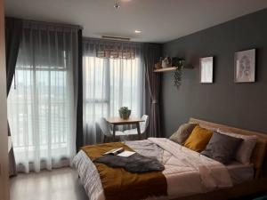 For RentCondoLadprao, Central Ladprao : ✅ For rent, Life ladprao, near BTS, size 26.50 sq.m., fully furnished and electrical appliances ✅