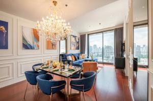 "For RentCondoSukhumvit, Asoke, Thonglor : Rental / Selling: Luxury Condo ""Khun By You"" in Thonglor, 2 Bed 2 Bath, 83 sqm, Floor 38, Full Funitures"
