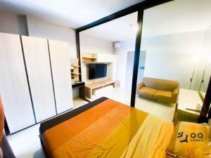 For RentCondoSamrong, Samut Prakan : For Rent  Ideo Sukhumvit 115   1Bed , size 28 sq.m., Beautiful room, fully furnished.