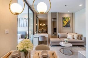 For RentCondoWitthayu,Ploenchit  ,Langsuan : Rental: Life One Wireless, 35 Sqm, Floor 22, 1 Bed 1 Bath