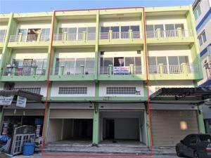 ขายตึกแถว อาคารพาณิชย์พระราม 2 บางขุนเทียน : ขายตึกแถว 2 ห้องติดกัน 3 ชั้นครึ่ง ซอยเทียนทะเล 20 ถนนหน้าตึกกว้าง จอดรถสบาย เหมาะทำการค้า