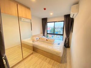 For RentCondoOnnut, Udomsuk : 🌈 New condo, new room, nice room for rent, Condo Hi Sukhumvit 93, BTS Bangchak, new furniture.
