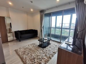 For RentCondoBang Sue, Wong Sawang, Tao Pun : (Real room picture) 2 Bedrooms for rent, Ideo Mobi Bangsue Condo, near Tao Poon-Bang Sue station. Opposite Tesco Lotus Prachachuen