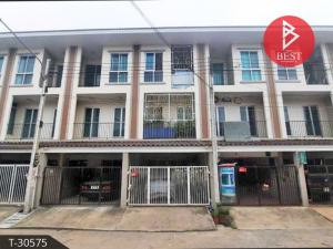 For SaleTownhouseChachoengsao : Sale townhome project Yada In Town, Bangpakong, Chachoengsao