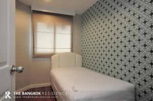 For RentCondoRama9, RCA, Petchaburi : Belle Grand Rama 9, luxury condo, rent 45,000 baht / month, 106 sq m, 3 bedrooms, 2 bathrooms. Near MRT Rama 9