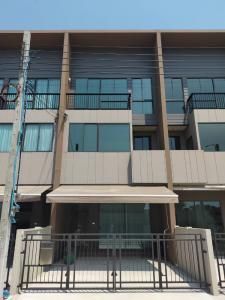 For RentTownhouseBangna, Lasalle, Bearing : Town Home for rent at Bann Klang Muang Bangna- Wongwang Ringroad