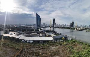 For SaleCondoRathburana, Suksawat : 😱 Shock ... Selling extremely cheap 😱 Chapter one People renovate Building A, 22nd floor, wake up to see the river view on Kasikorn side, not blocked view.