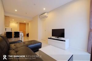 For RentCondoRama9, RCA, Petchaburi : Villa Asoke for rent 18,000 baht / month, size 46 sq.m., high floor, 1 bedroom, 1 bathroom, next to Mrt Phetchaburi.