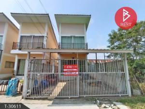 For SaleHouseRamkhamhaeng,Min Buri, Romklao : Twin house for sale, Arena Village, Nong Chok, Bangkok