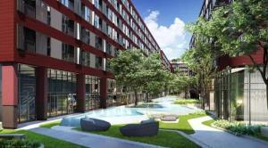 ขายคอนโดรังสิต ธรรมศาสตร์ ปทุม : ขายดาวน์ คอนโด เคฟ ทียู ใกล้ ม.ธรรมศาสตร์ รังสิต อาคาร C ชั้น 6 วิวสระและสวนส่วนกลาง Rare Item 1 ห้องนอน ราคา 1,800,000 บาท