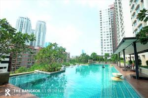 For SaleCondoRama9, RCA, Petchaburi : Shock Price! 20+ High Floor Condo for Sale Near MRT Phra Ram 9 - Lumpini Place Rama9 - Ratchada @2.85MB
