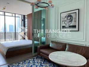 For SaleCondoRama9, RCA, Petchaburi : Super Luxury Room!! Condo for Sale Near MRT Phra Ram 9 - A Space I.D. Asoke-Ratchada @4.59MB All in