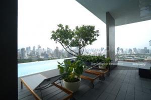 For SaleCondoSilom, Saladaeng, Bangrak : Large Room Hot Price!! Condo for Sale Near MRT Lumphini - Saladaeng One @16.65MB
