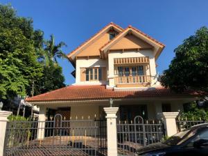 For RentHouseRamkhamhaeng,Min Buri, Romklao : house for rent, Laddarom Village, Ramkhamhaeng 118, AOL-F81-2104003767