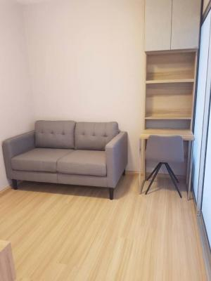 For RentCondoChengwatana, Muangthong : C211 for rent, Plum Condo Chaengwattana (new room, never lived, furniture + electrical appliances, building A, 7th floor, 2 air conditioners)