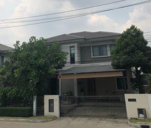For SaleHouseRangsit, Thammasat, Patumtani : Urgent sale, 2-storey detached house, Saransiri Tiwanon-Chaengwattana project, special price 7.5 MB.