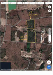 For SaleLandMukdahan : Land for sale 43 rai 2 ngan 52 square wa, Kham Pa Lai Subdistrict, Mukdahan
