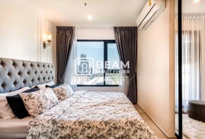 For RentCondoRama9, RCA, Petchaburi : LI006💖 LIFE ASOKE, beautiful room, complete furniture, ready to stay.👍