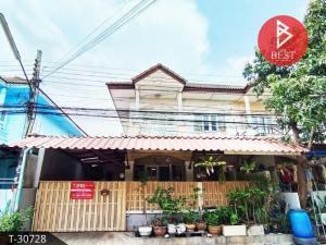 For SaleTownhouseSamrong, Samut Prakan : Townhouse for sale Sutha Wei Village, Custer House Bang Phli-Tamru, Samut Prakan