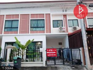 For SaleTownhouseSamrong, Samut Prakan : 2 storey townhome for sale, Village J Villa Sukhumvit - Praksa, Samut Prakan