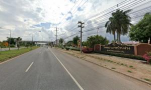 For SaleLandKhon Kaen : Land for sale at a price of 1668 baht per square meter, width 87 m., Ban Fang, Khon Kaen, 2 rai 1 ngan 59 square wa
