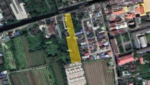 For SaleLandMahachai Samut Sakhon : Land for sale in Krathum Baen Near Wat Nong Khaem, near Bangkok, cheap