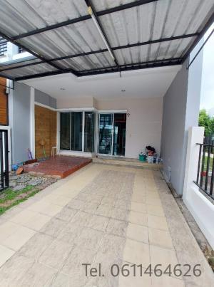 For SaleTownhouseRama5, Ratchapruek, Bangkruai : Quick sale!! Townhome Vista Park Sathorn-Pinklao behind the corner