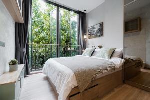 เช่าคอนโดอ่อนนุช อุดมสุข : For Rent 租赁式公寓 Kawa Haus (1bed )33sq.m. 17,500 THB Tel. 065-9899065