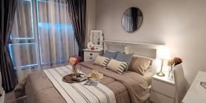 For RentCondoRama9, RCA, Petchaburi : For rent, Life Asoke Rama9, new room, 🍁32 sqm, very beautiful decorated room 🍁