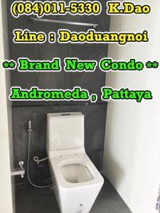 ขายคอนโดพัทยา บางแสน ชลบุรี : Andromeda Pratamnak Pattaya Sale Brand New Condo 18th Floor Sea View