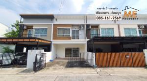 For RentTownhousePattanakan, Srinakarin : Townhouse for rent, good price, fully furnished, Villete Lite Village, Pattanakarn-On Nut RTE11-19.