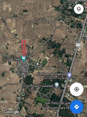 For SaleLandMaha Sarakham : 8.195 rai of land in Maha Sarakham plot