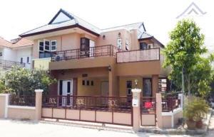 For SaleHouseBangbuathong, Sainoi : ขายบ้านเดี่ยวหลังมุม 5.25ล้าน ม.สินบดี บางบัวทอง ขายพร้อมผู้เช่า เดือนละ 20,000 บาท 71 ตรว. 5 ห้องนอน 4 ห้องน้ำ