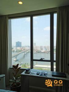 For SaleCondoPinklao, Charansanitwong : Sale 333 Riverside, beautiful room, river view