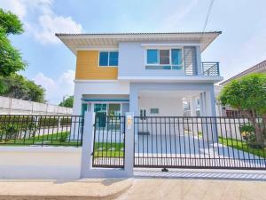 For SaleHouseSukhumvit, Asoke, Thonglor : TC-9068 cheap sale, single house on the corner Perfect Place Sukhumvit 77, renovated, beautiful, ready, only 6.39 million baht.