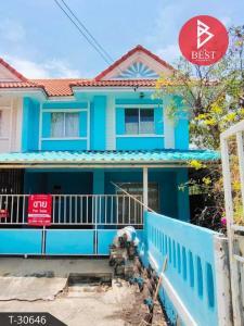 For SaleTownhouseMahachai Samut Sakhon : Cheap 2 storey townhouse for sale, Panali Village Pantainorasingh, Samut Sakhon, Rama 2