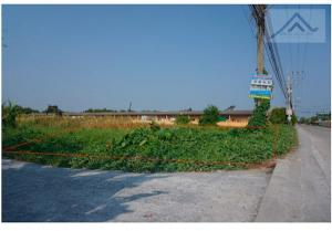 For SaleLandMahachai Samut Sakhon : Land for sale near Soi Ban Suan Luang (Kratum Baen) 12 million, 524.7 sq m, about 40 meters wide, can be built as a residence.