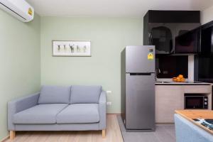 เช่าคอนโดพระราม 9 เพชรบุรีตัดใหม่ : 1 ห้องนอน พร้อมอยู่ แต่งครบ