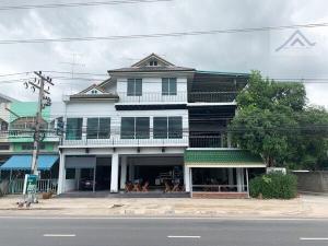 ขายตึกแถว อาคารพาณิชย์ราชบุรี : ขายอาคารพาณิชย์ 3 คูหา ติดถนนใหญ่ในเมืองราชบุรี ใกล้ค่ายทหารบุรฉัตร