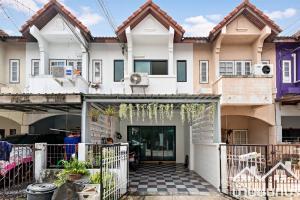 For SaleTownhouseRama5, Ratchapruek, Bangkruai : Townhome 2 floors Non Village Tiwanon - Rama 5 (Near Than Nam Non), complete additions