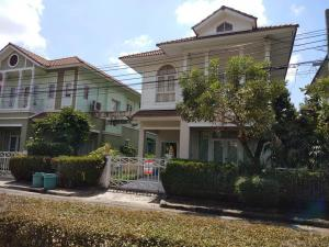For SaleHouseLadkrabang, Suwannaphum Airport : Single house for sale, Lalin Property Village .. 57 square meters, Prawet Soi Kanchanaphisek 36