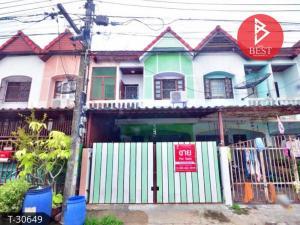 For SaleTownhouseSamrong, Samut Prakan : Townhouse for sale Ratchathanee Village 2, Thepharak, Samut Prakan