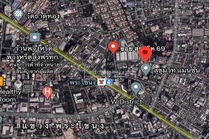 For SaleLandOnnut, Udomsuk : Rare ✦ Land for sale in Sukhumvit in the heart of the city, walking 4 minutes to BTS Phra Khanong, near Ramindra-At Narong Expressway   Land Sukhumvit - Ekamai - Thonglor - Phra Khanong near BTS Phra Khanong Land for sale Sukhumvit 69 -71 Alley  