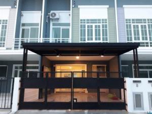 ขายทาวน์เฮ้าส์/ทาวน์โฮมวิภาวดี ดอนเมือง หลักสี่ : ⭐🚩ขายทาวน์โฮม 2 ชั้น‼️ทำเลดีมาก  กัสโต้ สรงประภา-ดอนเมือง (Q house) ( สรงประภา 30 )สภาพเหมือนใหม่ (H1130)