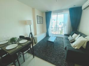 ขายคอนโดสยาม จุฬา สามย่าน : Wish@Samyan 2 Bed 6.6 MB ห้องตัวอย่างลดขาดทุน