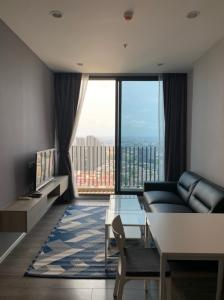 For SaleCondoOnnut, Udomsuk : Condo for sale, Whizdom Essence, 2 bedrooms, high floor, great view.